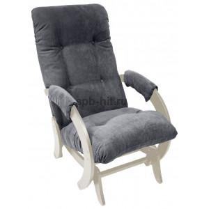 Кресло-глайдер 68 Verona Antrazite grey/дуб шампань