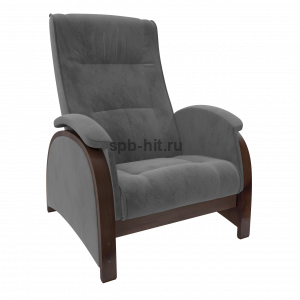Кресло-глайдер Баланс 2 орех/Verona Antrazite grey