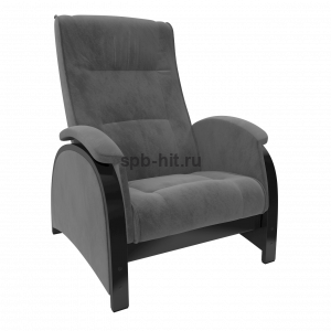 Кресло-глайдер Баланс 2 венге/Verona Antrazite grey