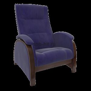 Кресло-глайдер Баланс 2 орех/Verona Denim blue